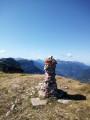 Le cairn sommital et Chamechaude