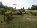 Le calvaire fleuri de Saint-Léger-sous-Brienne