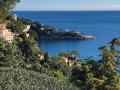 Eze village à la plage de Saint-Laurent-d'Eze par le chemin de Toscane