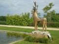 Le cerf sculpture de Toros