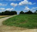 le champ d'éoliennes