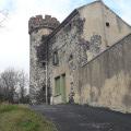 Le château dans l'oppidum de Ronzières