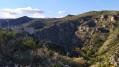Les gorges de la Guillera, le château et le village de Rodès