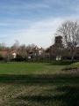 Le château et l'église de Mailhat