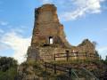 Le château féodal de Montfaucon