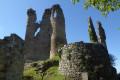 Le château ruiné des Tourettes