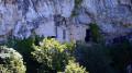 Le château troglodyte de Nans