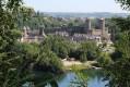 Le château vue du Rocher coupé