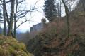 Le château vue du sentier