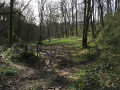 Le chemin Mirabel contourne la propriété