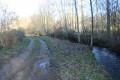 Le chemin suit un instant le ruisseau l'Hermitain