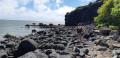 Le cheminement sur les rochers