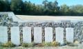 Le cimetière militaire britannique de Courmas.