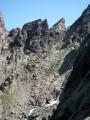 Le cirque de la solitude sur le GR20 en Corse