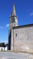Le clocher de l'Abbatiale Notre-Dame de L'Absie