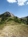 Le Col des Prêtres depuis le Col de Grimone