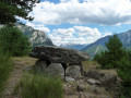 Le chaos rocheux du versant Sud du Morgonnet et le Dolmen du Villard