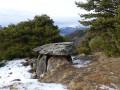 Les Vallettes et le dolmen du Villard