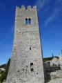 Les Arrosants, le château féodal, Hugueneuve à Ollioules