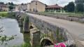 Le fameux pont de pierre de Rupt -aux-Nonains.