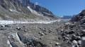 Le glacier de l'Argentière