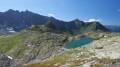 Le grand lac du Mont Coua