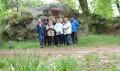 Le groupe au rocher Nemosa