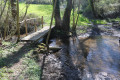 Le gué du ruisseau de Fontblanche