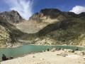Le Lac Blanc et lacs de Cheserys depuis la Flégère