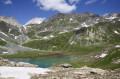 Le Refuge de Peclet Polset et le Lac Blanc