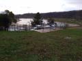 Le Lac de Champos vu du sommet de la butte.