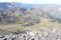 Le lac de Cristol vu du sommet de la Gardiole