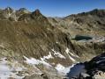 Le Lac de la Croix sous le Mont-Blanc