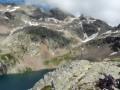 Les crêtes du Lac du Vallon