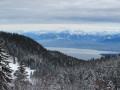 Le Lac Léman et les sommets du Chablais
