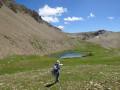 Le lac supérieur de l'Aupillon