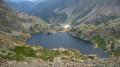Le lac vert de Valmasque.