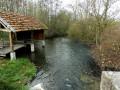 Le lavoir de St-Hilaire sous Romilly 10100 chemin de Mouille Cul.