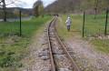 Le long de la voie du petit train des combes