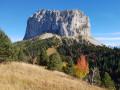 Le Mont Aiguille à l'automne
