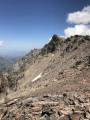 Le Monte Cinto depuis la pointe des Eboulis