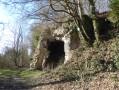 Le parvis de la Grotte Sainte-Reine