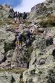 Le passages des échelles au dessus des Lacs Cheserys