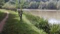 Le petit lac aménagé