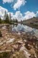 Le Lac de Tavels depuis les vacheries de Salèse