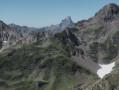 Le Pic du Midi d'Ossau depuis le Pic Sanctus