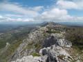 Le plateau du massif de la ST Baume