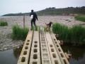 Le pont artisanal