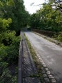 Le pont au dessus du chemin de fer