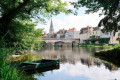 Petites rues, panoramas et bords de Creuse à Argenton